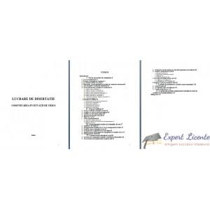 COMUNICAREA IN SITUATII DE CRIZA (2) – LUCRARE DE DISERTATIE