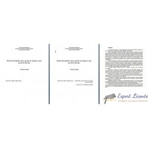 ROLUL MITOLOGIILOR MASS-MEDIA IN ALEGEREA UNEI PROFESII LIBERALE – TEZA DE LICENTA