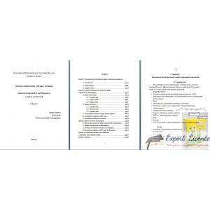 LUCRARE DE LICENTA AMF – ANALIZA FARMACODIAGNOSTICA A UNUI FITOPREPARAT CU ACTIUNE ANTIULCEROASA. CEAI GASTRIC