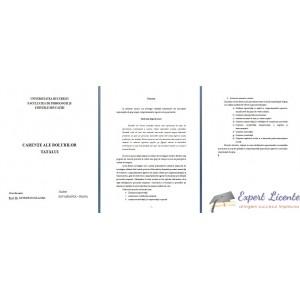 CARENTE ALE ROLULUI TATALUI - LUCRARE DE LICENTA
