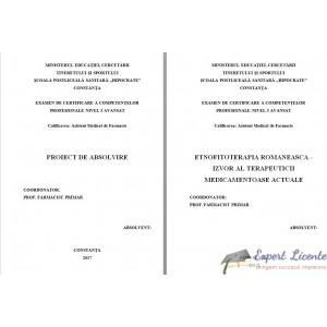 ETNOFITOTERAPIA ROMANEASCA - IZVOR AL TERAPEUTICII MEDICAMENTOASE ACTUALE