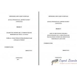 ASPECTE PRIVIND RECUPERAREA KINETOTERAPEUTICA A PRINCIPALELOR TRAUMATISME SUFERITE DE SPORTIVII DE PERFORMANTA DIN JUDO