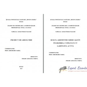ROLUL ASISTENTEI MEDICALE IN INGRIJIREA COPILULUI CU LARINGITA ACUTA