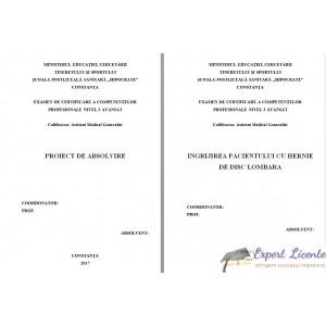 INGRIJIREA PACIENTULUI CU HERNIE DE DISC LOMBARA (1)