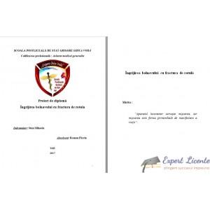 INGRIJIREA PACIENTILOR CU FRACTURA DE ROTULA
