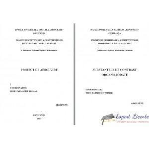 SUBSTANTELE DE CONTRAST ORGANO-IODATE