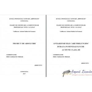 ANTIARITMICELE CARE PRELUNGESC DURATA POTENŢIALULUI DE ACŢIUNE CLASA III