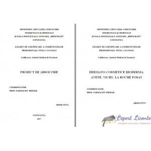 DERMATO-COSMETICE BIODERMA, AVENE, VICHY, LA ROCHE POSAY