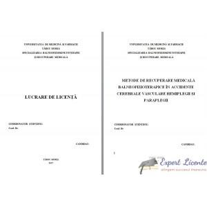 METODE DE RECUPERARE MEDICALĂ BALNEOFIZIOTERAPICE ÎN ACCIDENTE CEREBRALE VASCULARE HEMIPLEGII ŞI PARAPLEGII (2)