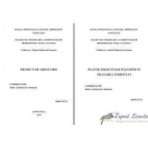 PLANTE MEDICINALE FOLOSITE IN TRATAREA STRESULUI