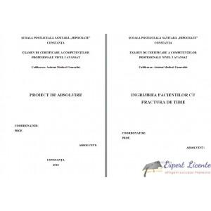 INGRIJIREA PACIENTILOR CU FRACTURA DE TIBIE (1)