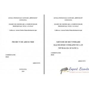 METODE DE RECUPERARE BALNEOFIZICOTERAPEUTICA IN NEVRALGIA SCIATICA