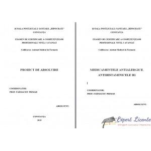 MEDICAMENTELE ANTIALERGICE. ANTIHISTAMINICELE H1 (2)