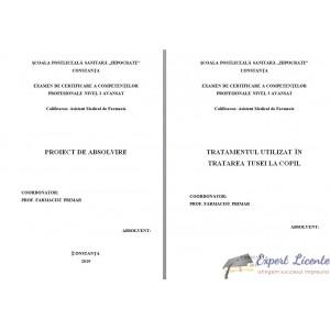 TRATAMENTUL UTILIZAT IN TRATAREA TUSEI LA COPIL