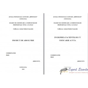 INGRIJIREA PACIENTILOR CU URTICARIE ACUTA (1)