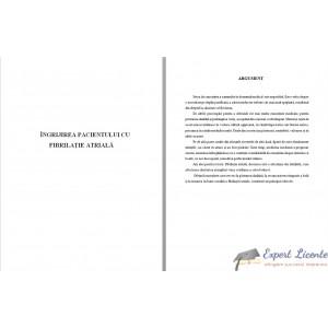 INGRIJIREA PACIENTILOR CU FIBRILATIE ATRIALA (1)