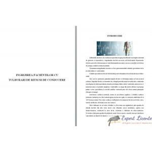 INGRIJIREA PACIENTILOR CU TULBURARI DE RITM SI DE CONDUCERE